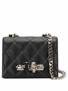 Alexander McQueen embellished quilted crossbody - Black