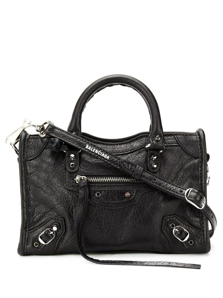 Balenciaga Classic Nano City AJ bag - Black