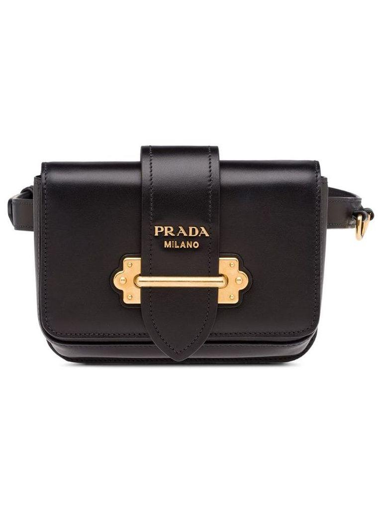 Prada Prada Cahier Belt Bag - Black