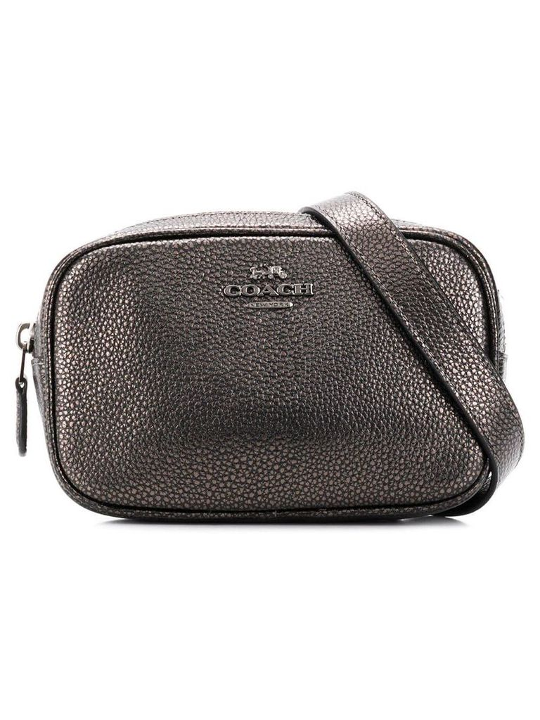 Coach metallic belt bag - Grey