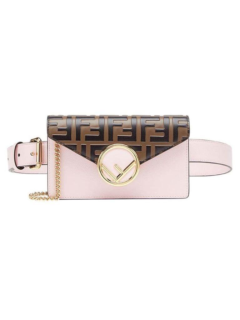 Fendi FF belt bag - Brown