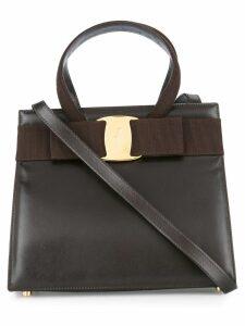 Salvatore Ferragamo Pre-Owned Vara Bow 2way bag - Brown