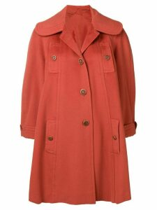 A.N.G.E.L.O. Vintage Cult 1950's buttoned rose coat - Orange