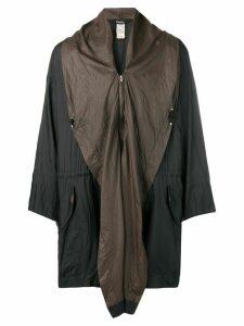 Issey Miyake Pre-Owned 1990's windcoat - Brown