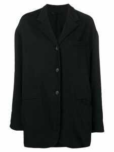 Dolce & Gabbana Pre-Owned 1990's loose fit coat - Black