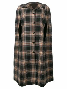 A.N.G.E.L.O. Vintage Cult 1970's reversible checked coat - Black