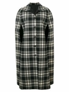 A.N.G.E.L.O. Vintage Cult 1970's reversible plaid coat - Black