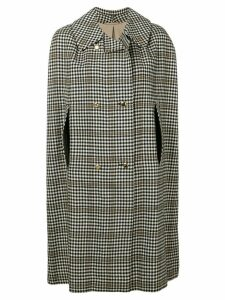 A.N.G.E.L.O. Vintage Cult 1970's checked double-breasted coat - White