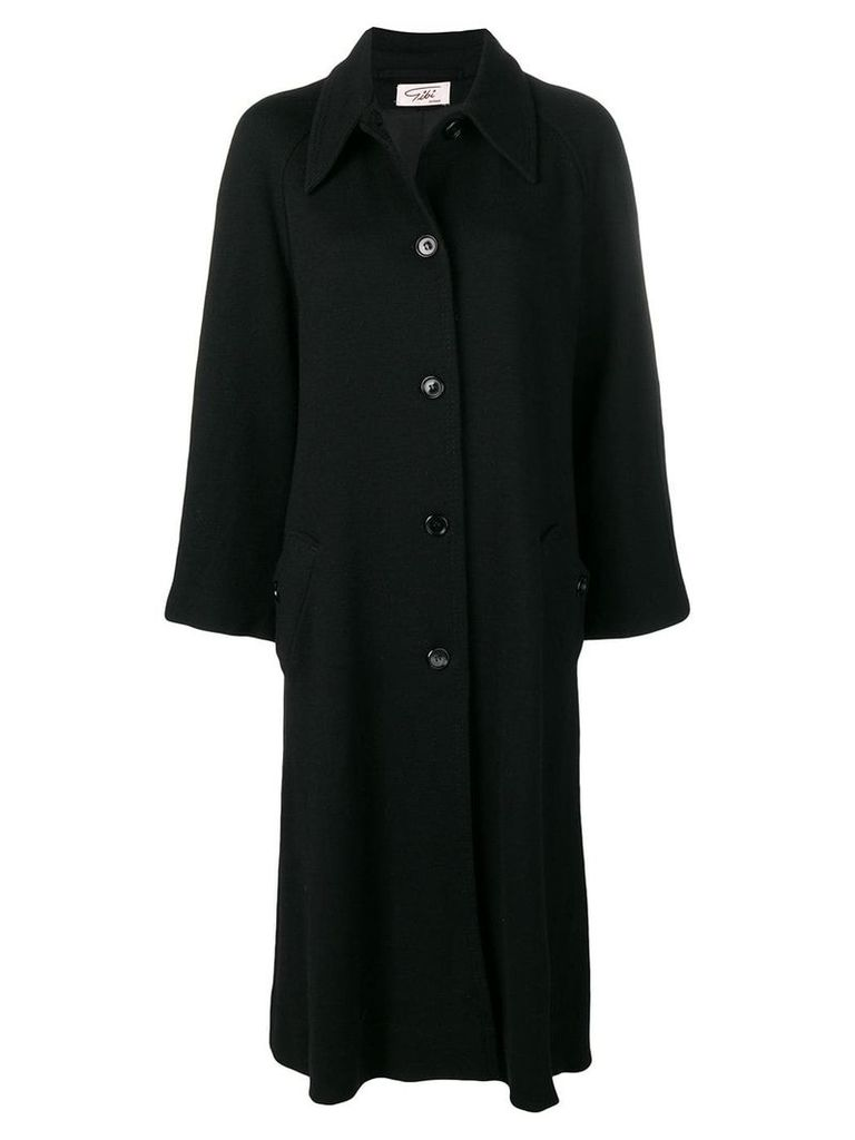 A.N.G.E.L.O. Vintage Cult 1970's long coat - Black