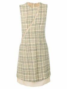 Comme Des Garçons Pre-Owned 1997 checked dress - Neutrals