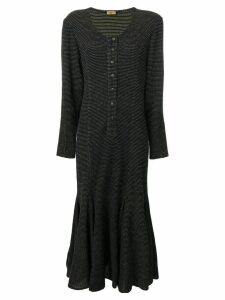 Fendi Pre-Owned dotted dress - Blue
