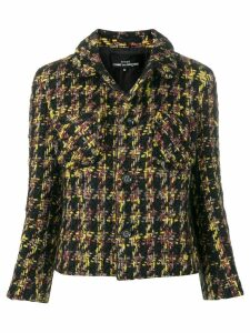 Comme Des Garçons Pre-Owned Boucle cropped jacket - Black