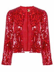 Comme Des Garçons Pre-Owned 1999 sequin embellished cropped jacket -