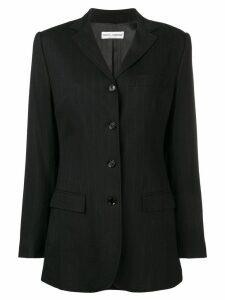Dolce & Gabbana Pre-Owned 2000's pinstripe blazer - Black