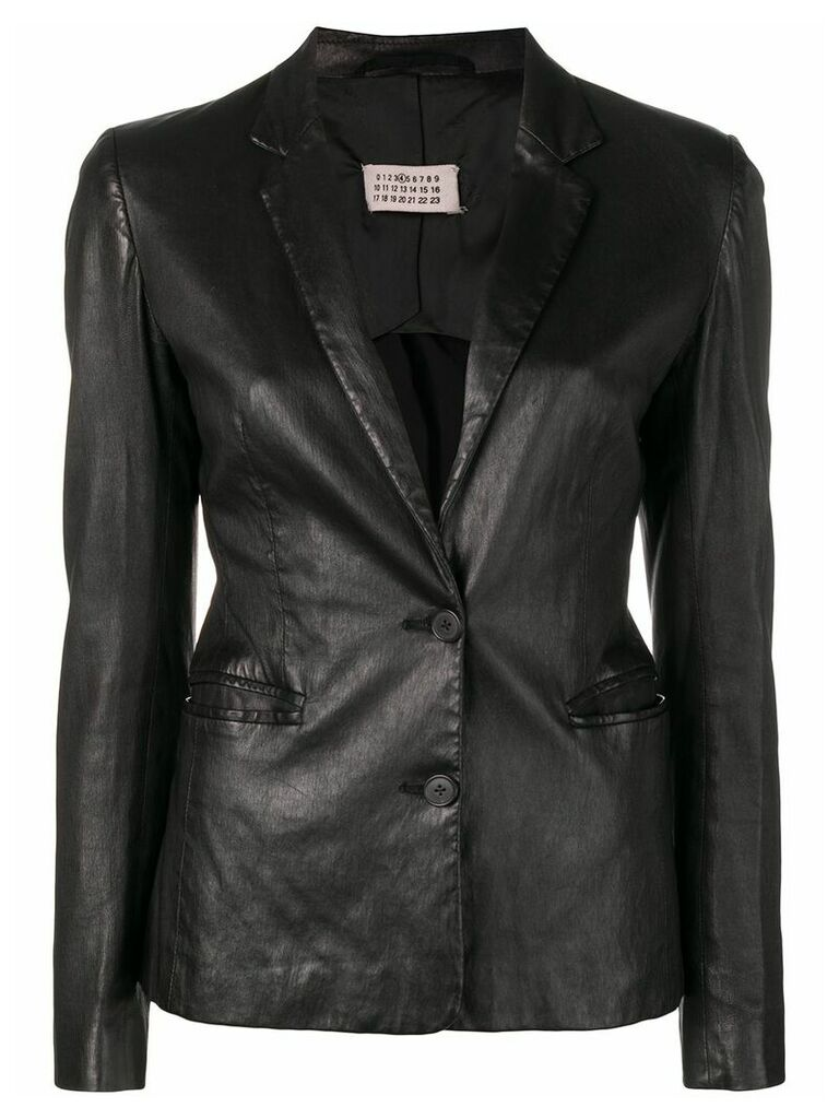 Maison Martin Margiela Vintage 1990's buttoned blazer - Black