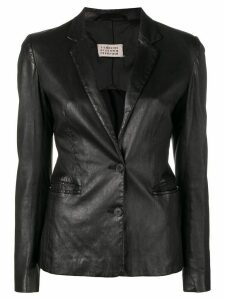 Maison Martin Margiela Pre-Owned 1990's buttoned blazer - Black
