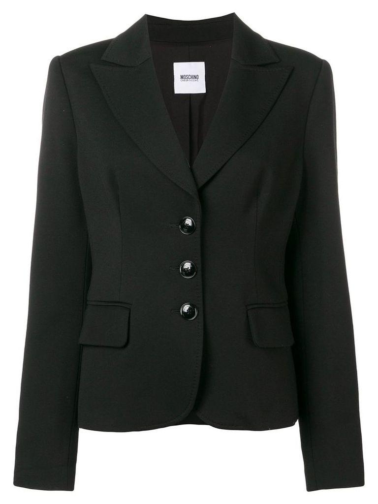 Moschino Vintage 1990's slim fit jacket - Black