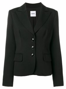 Moschino Pre-Owned 1990's slim fit jacket - Black