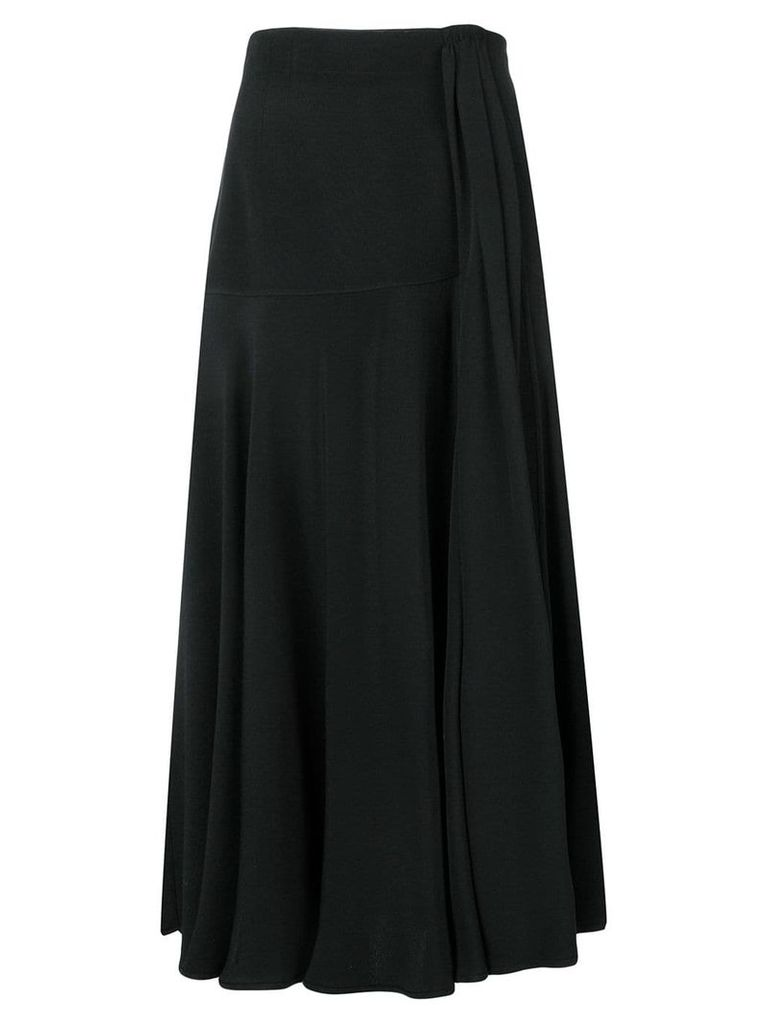 Valentino Vintage 1980's high rise skirt - Black