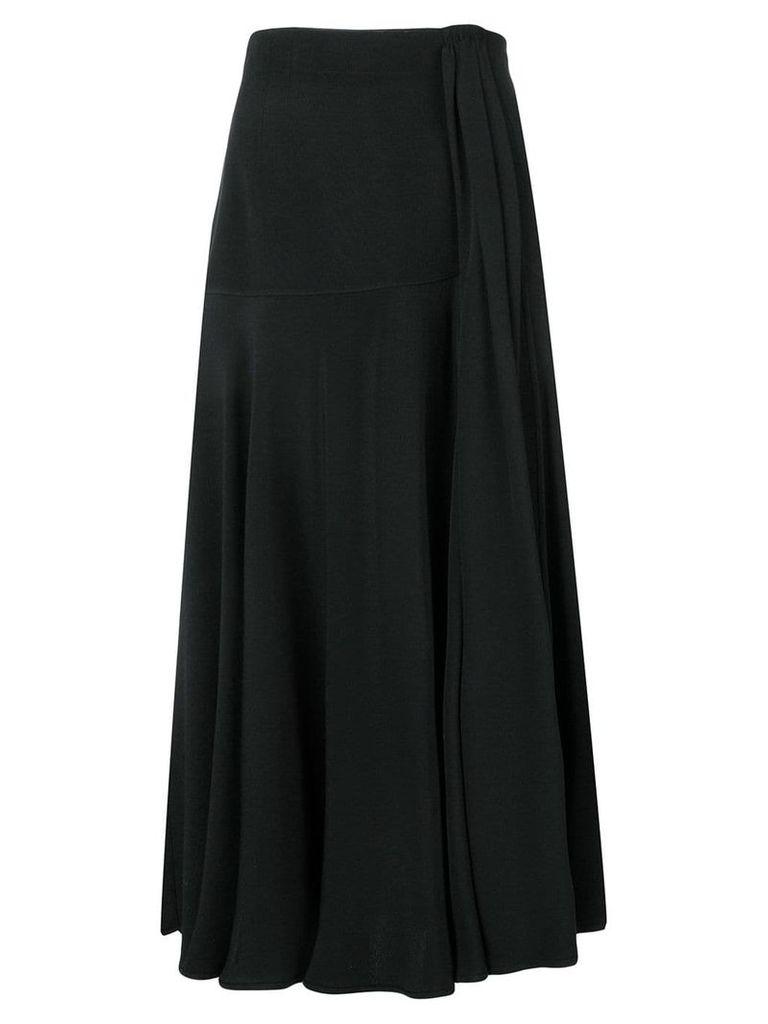 Valentino Vintage 1980's high rise skirt - Black