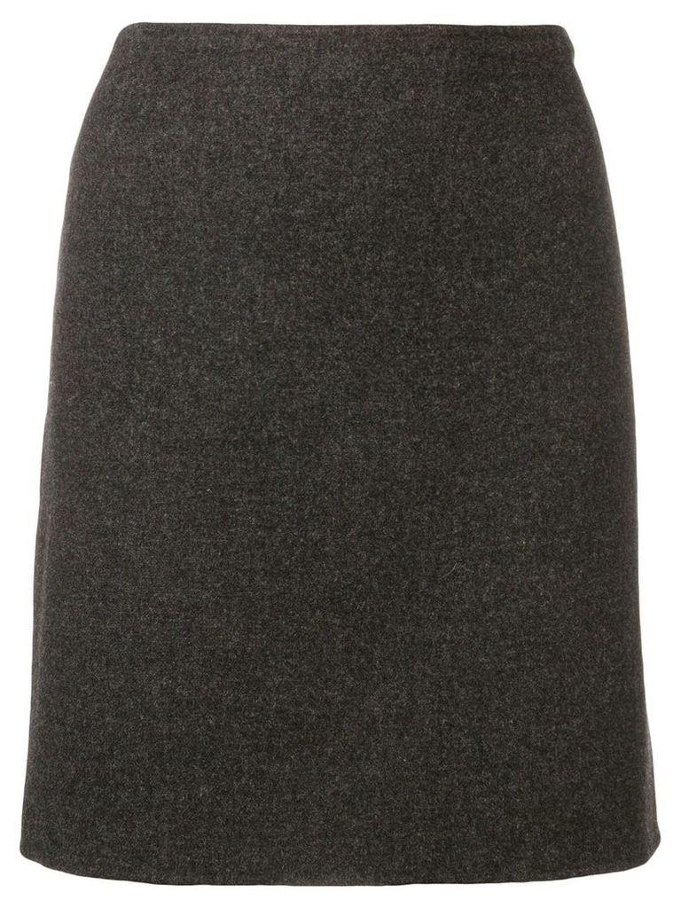 Prada Vintage 1990's straight skirt - Grey