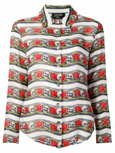 Jean Paul Gaultier Pre-Owned skull print shirt - Neutrals