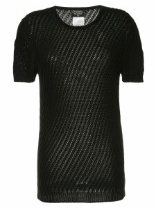 Chanel Pre-Owned short sleeve top - Black