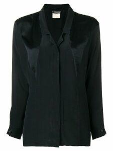 Fendi Pre-Owned panelled shirt - Black