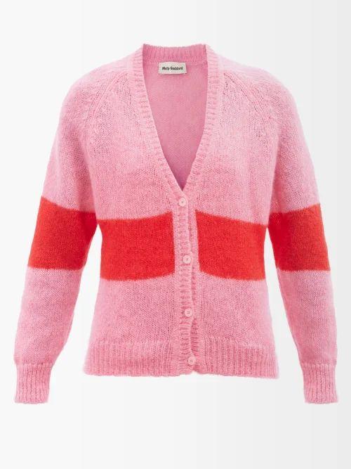 Gucci - Floral And Logo Jacquard Cape - Womens - Black