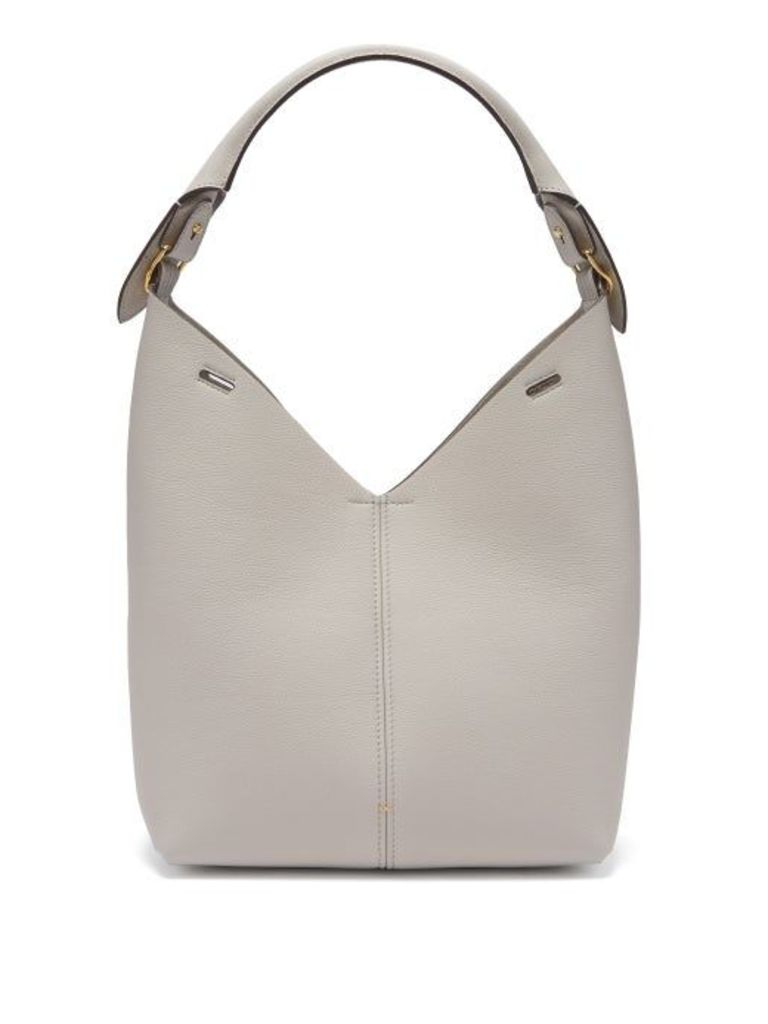 Anya Hindmarch - Build A Bag Grained Leather Tote Bag - Womens - White