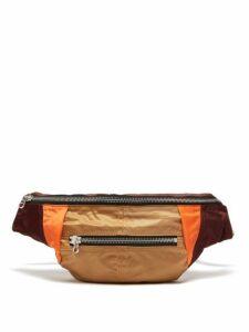 Isabel Marant - Noomi Technical Belt Bag - Womens - Burgundy Multi