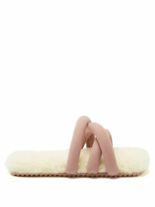 Gucci - Gg Marmont Mini Quilted Leather Shoulder Bag - Womens - Light Pink
