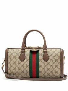 Gucci - Ophidia Boston Gg Supreme Bag - Womens - Grey Multi