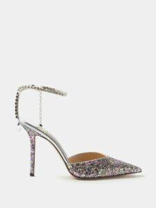 Isabel Marant - Nilwey Tricolour Half Moon Bag - Womens - Green Multi