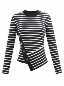 Isabel Marant - Wardy Leather Shopper Bag - Womens - Red Multi