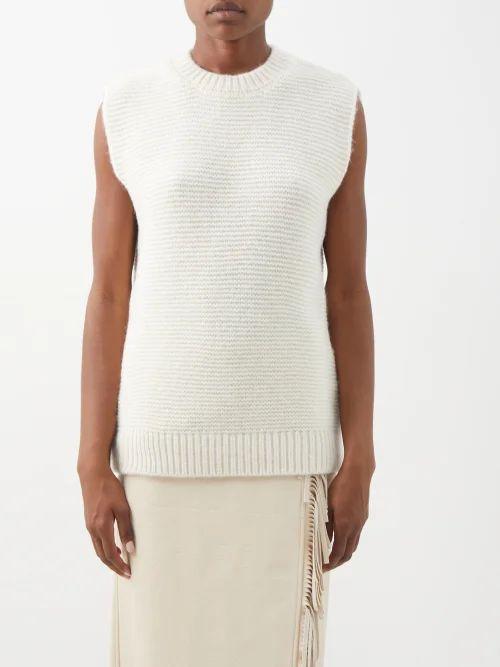 Proenza Schouler - L Tote Suede Bag - Womens - Black
