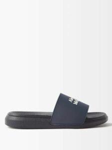 Anaak - Fay Diamond Jacquard Cotton Blouse - Womens - White Print