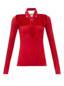 Le Sirenuse, Positano - Vanessa Postcard Print Dress - Womens - Dark Blue