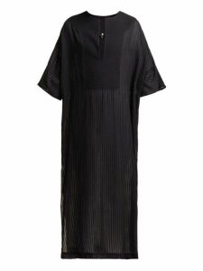 Su Paris - Tia Cotton Kaftan - Womens - Black