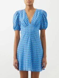 Albus Lumen - Azul Shirtdress - Womens - Blue