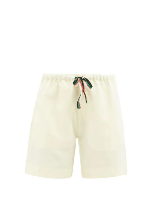 Zimmermann - Heathers Floral Print Tiered Cotton Midi Dress - Womens - White Multi