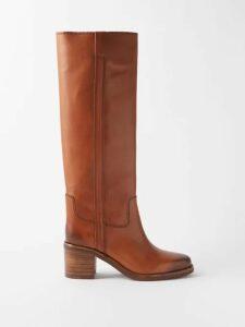Le Sirenuse, Positano - Lucy Aretusa Print Cotton Shirtdress - Womens - Green Print