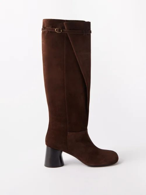 Muzungu Sisters - Soraya Silk Wrap Dress - Womens - Red Print