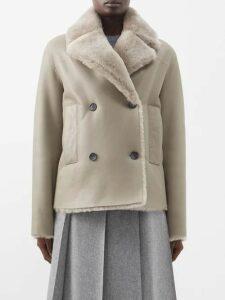 On The Island By Marios Schwab - Floreana Floral Print Silk Crepe Kaftan - Womens - Green Print