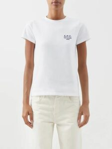 Saint Laurent - Silk Crepe Devoré Blouse - Womens - Black