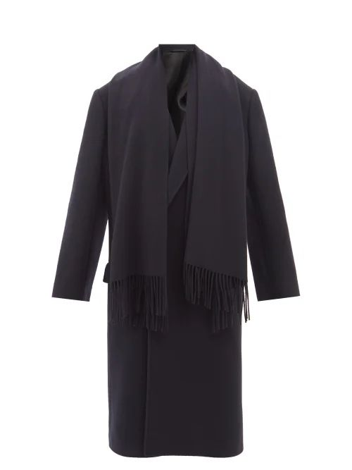 Chloé - Single Breasted Wool Blend Jacket - Womens - Camel