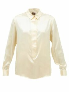 Fendi - Mania Cube Print Hooded Jacket - Womens - Multi