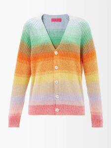 Bottega Veneta - Leopard Print And Suede Collar Coat - Womens - Animal