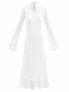Ganni - Fenn Wool Blend Bouclé Jacket - Womens - Pink