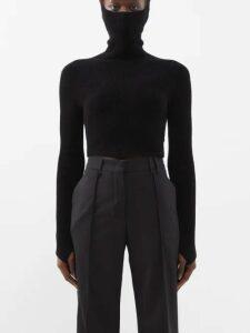 Johanna Ortiz - Vanuato Floral Print Silk Georgette Gown - Womens - Blue Multi